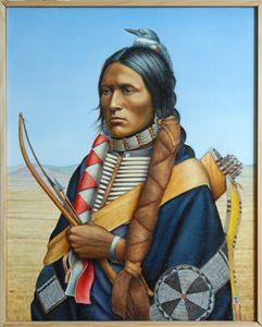 Cheyenne Warrior 1860