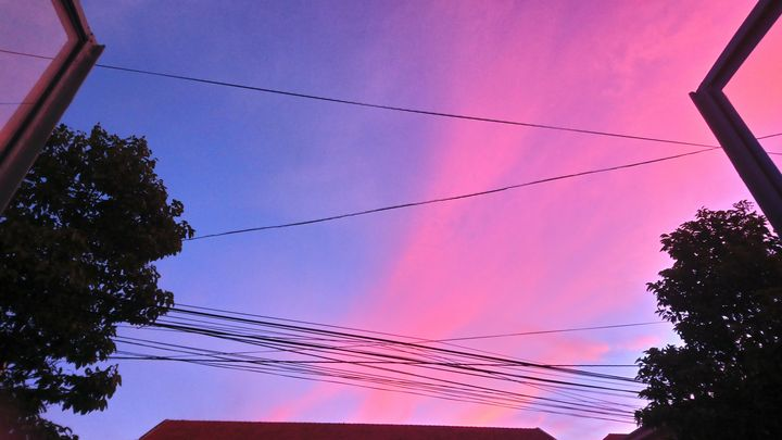 Colorful clouds - Jena Truong