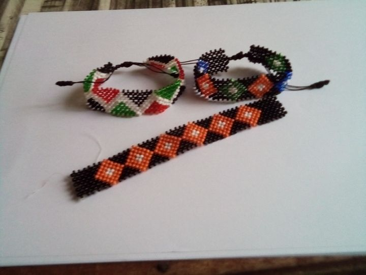 Maasai bangle - Gache arts & crafts