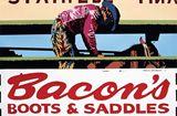 Bill Schenck Bacon's Boots & Saddles