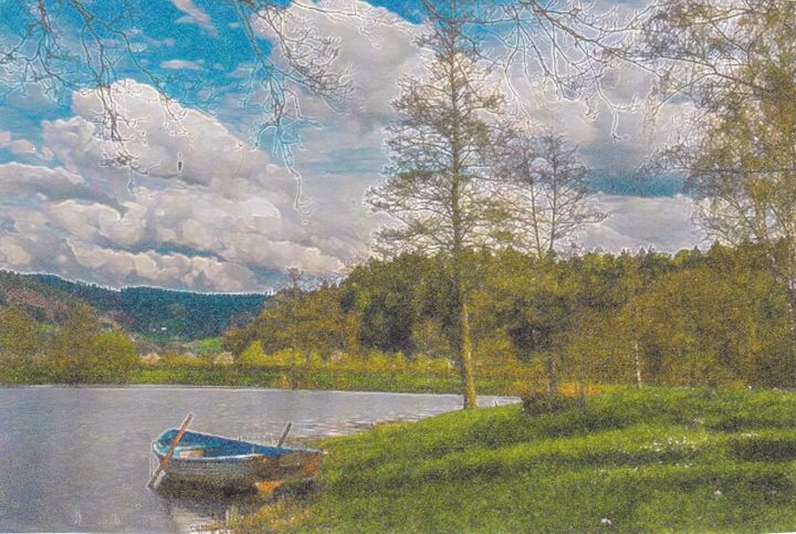 Lazy pond - Gene Roberts