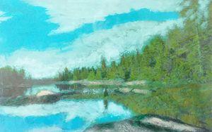 Island in the sky - Gene Roberts