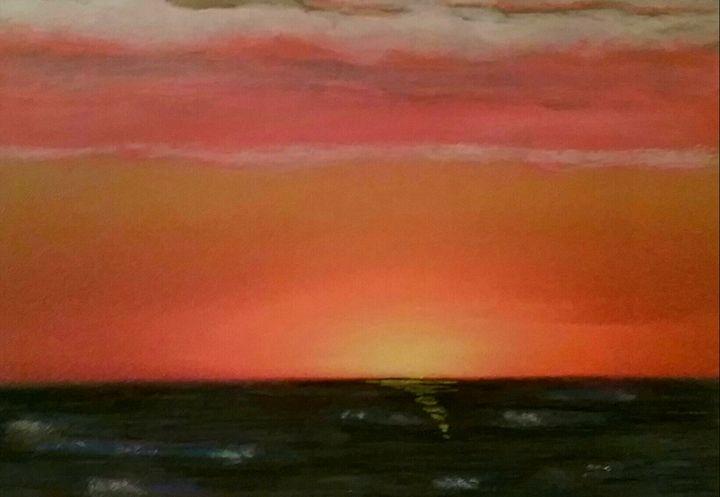 Sunset on the Gulf coast - Gene Roberts