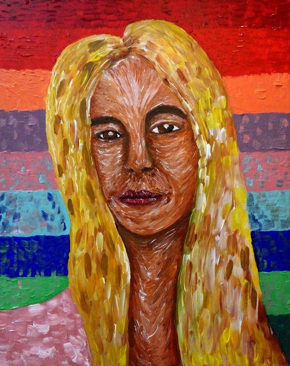 Woman in pain - Christos Anastasopoulos
