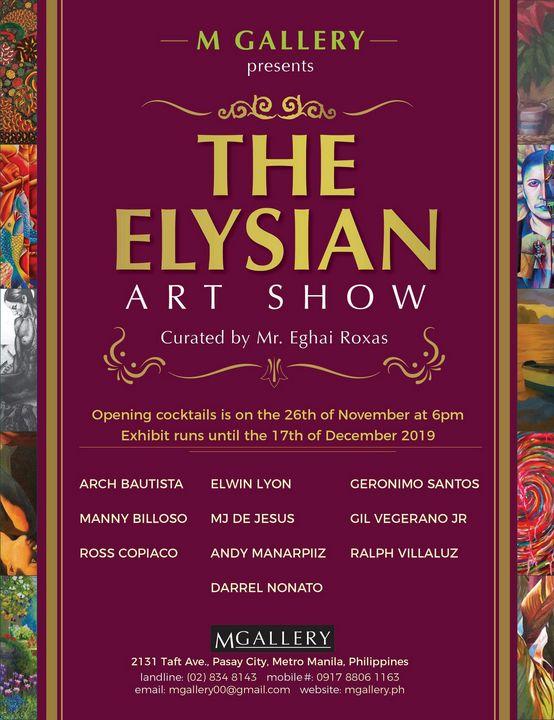 Elysian Art Show - D.A.Nonato