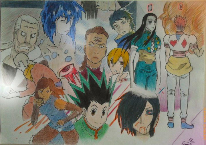 Crossover of different anime. - Gsparrowdeathlegend