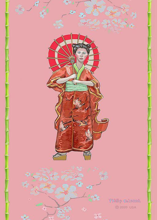 Japanese Princess - GianniArt
