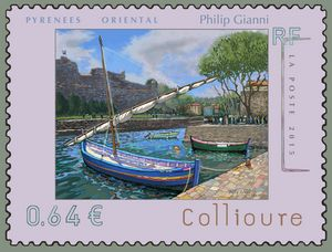 My suggestion for a new French Stamp