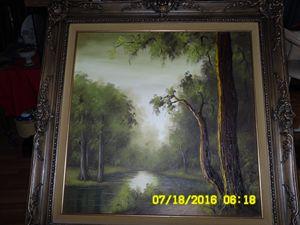 LiL Chrzan painting.