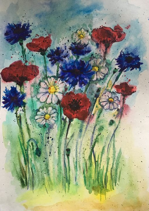 Wildflowers - Yulia Pimenova