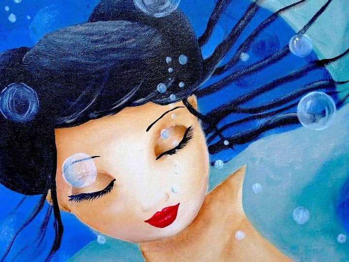 Floating time - Evelyne Joy of Art