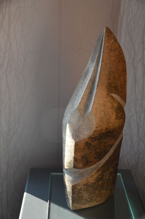Brown face - Rudolf Meyer