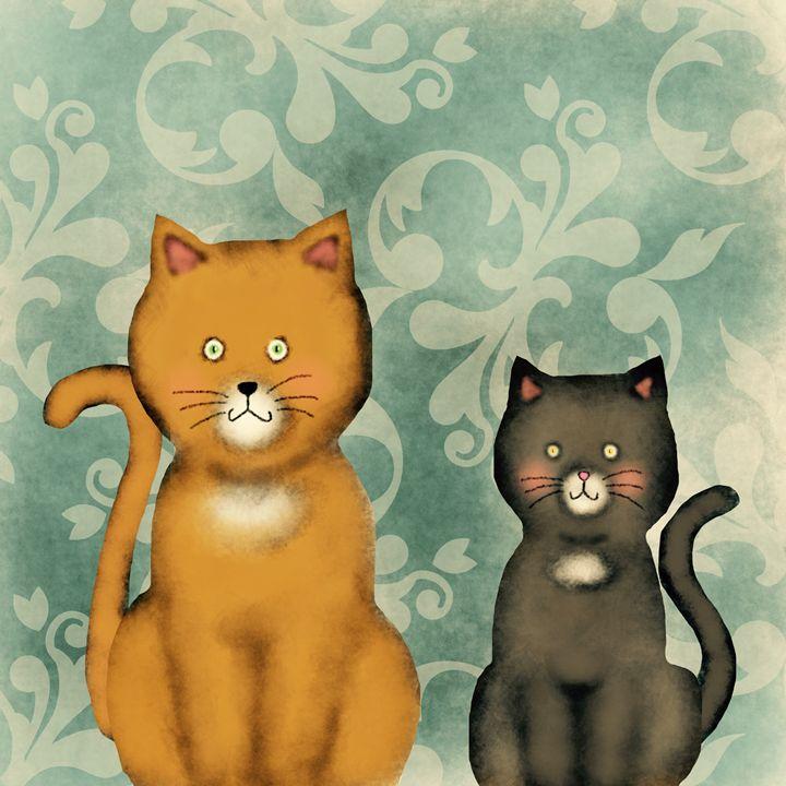 Cats - Illustrations by Mayumi Hulce