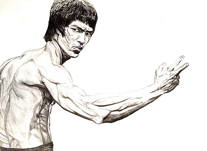 Bruce lee - Arrun's fine art