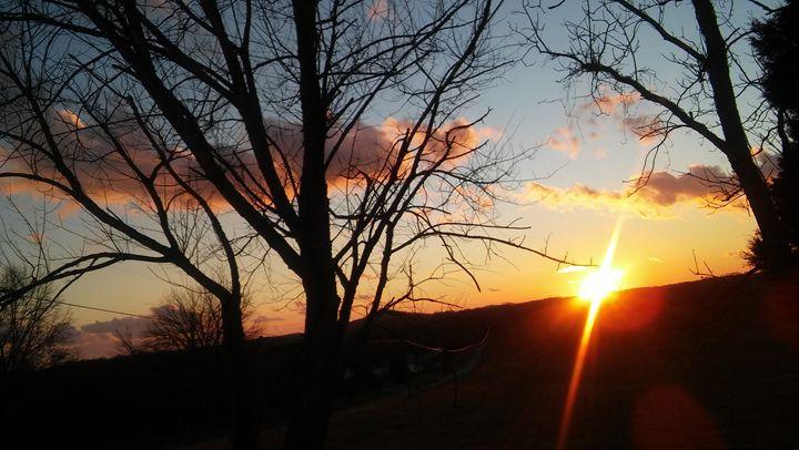 fiery skyline - destinee ray