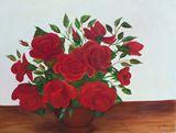 24 x 30 still life of roses
