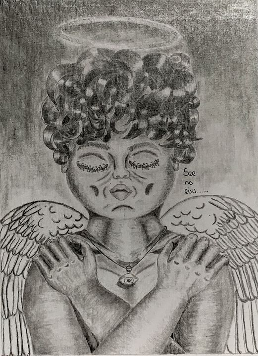 See No Evil Baby Angel - Dej's Collection