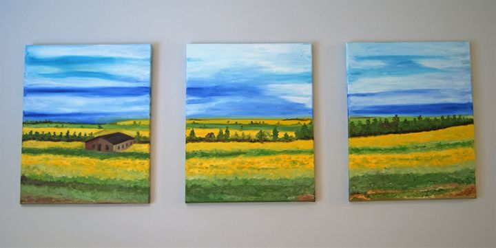 Canola Fields - Denis G.