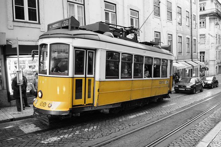 A tram in Lisbon - Denis G.