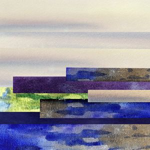 Peaceful Morning Abstract Design I