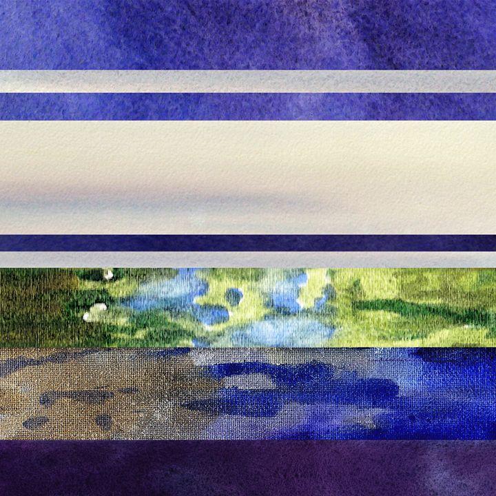 Peaceful Morning Abstract II - Artszarts