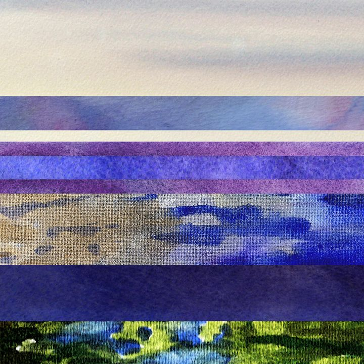 Peaceful Morning Abstract III - Artszarts