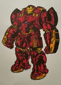 Hulkbuster armor Iron Man