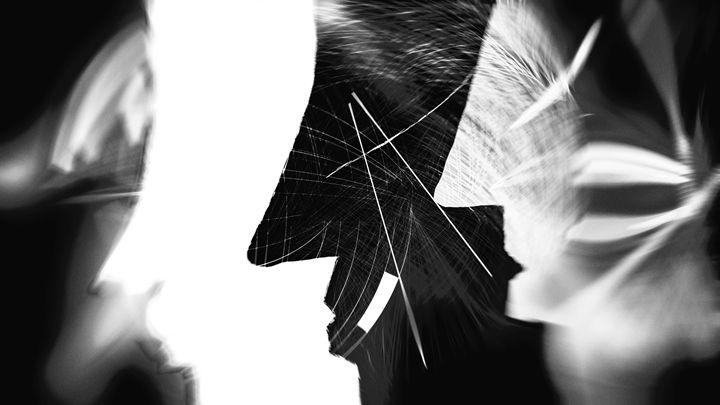 Geometric Faces - Jennifer Athena Galatis