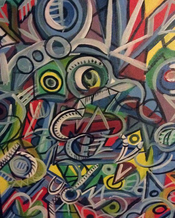 Crowded colors - Tristan(trip)horton