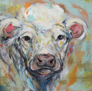Turquoise Cow