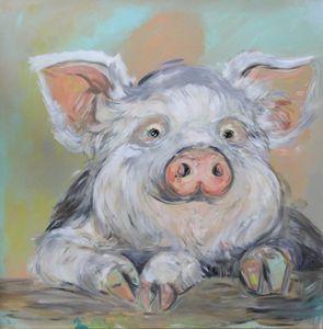 Lazy Days Pig