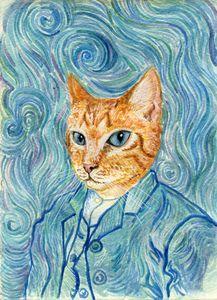 Kitten van Gogh