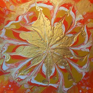 Golden Flower of Abundance