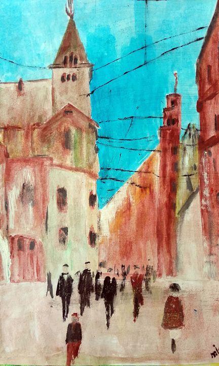 the city - mihaela ionita