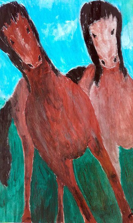 horses - mihaela ionita
