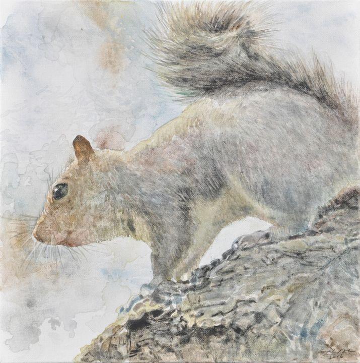 squirrel1 - GXL's paintings