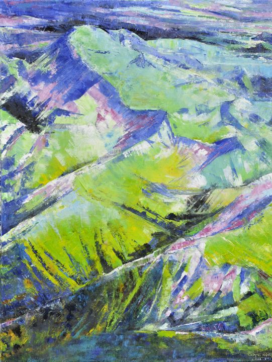 mountains13 - GXL's paintings