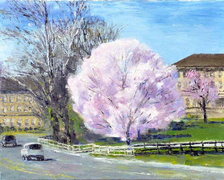 spring - GXL's paintings