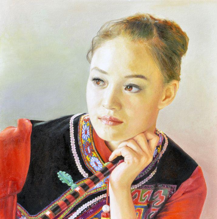 female performers - GXL's paintings