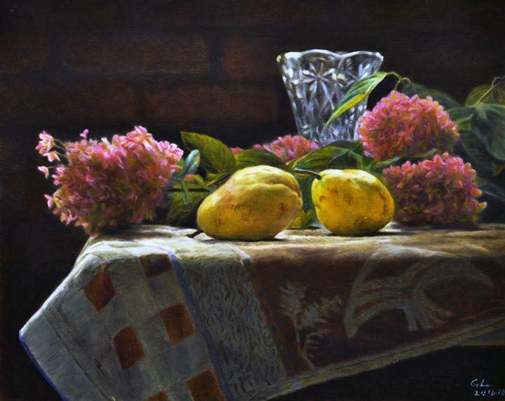 Still life - GXL's paintings