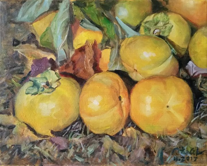 persimmons - GXL's paintings