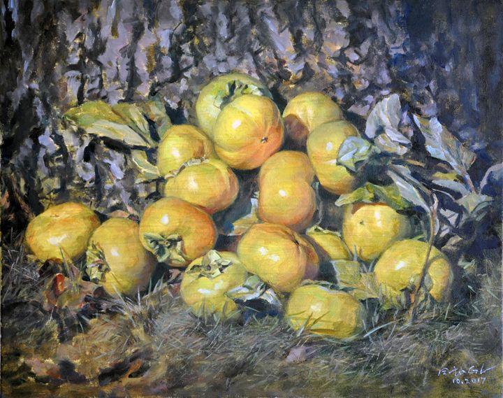 persimmons - GXL's paintings
