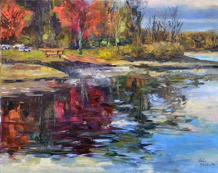 lake - GXL's paintings