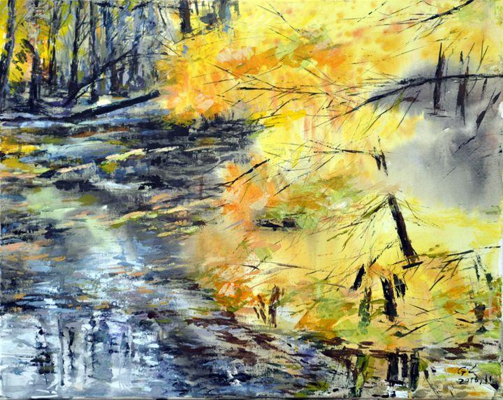 creek - GXL's paintings