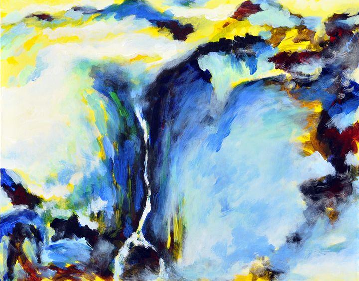 waterfall2 - GXL's paintings