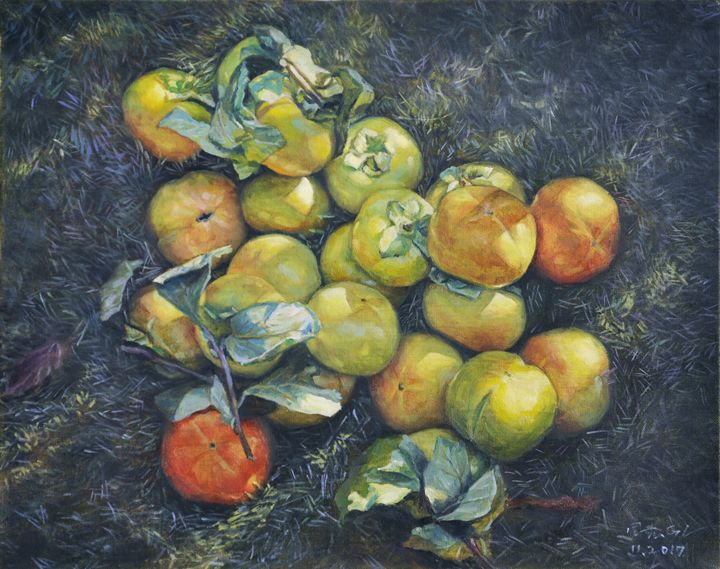 persimmons2 - GXL's paintings
