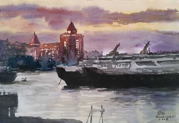 watercolor - GXL's paintings