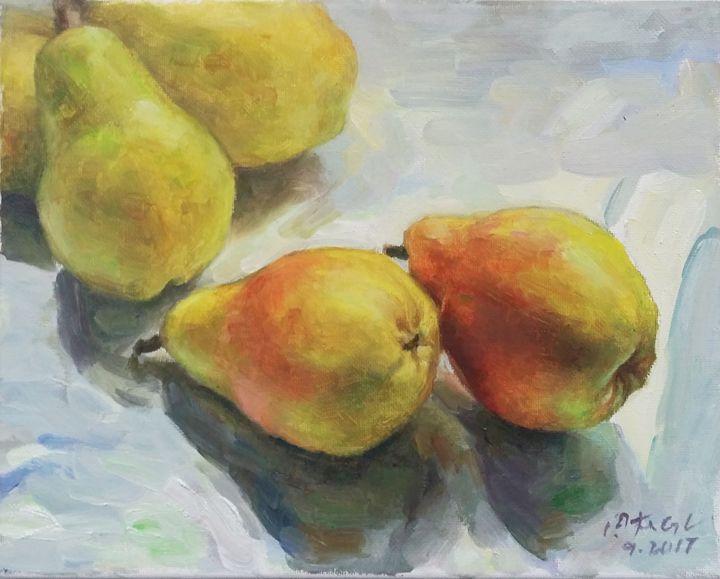 pear - GXL's paintings