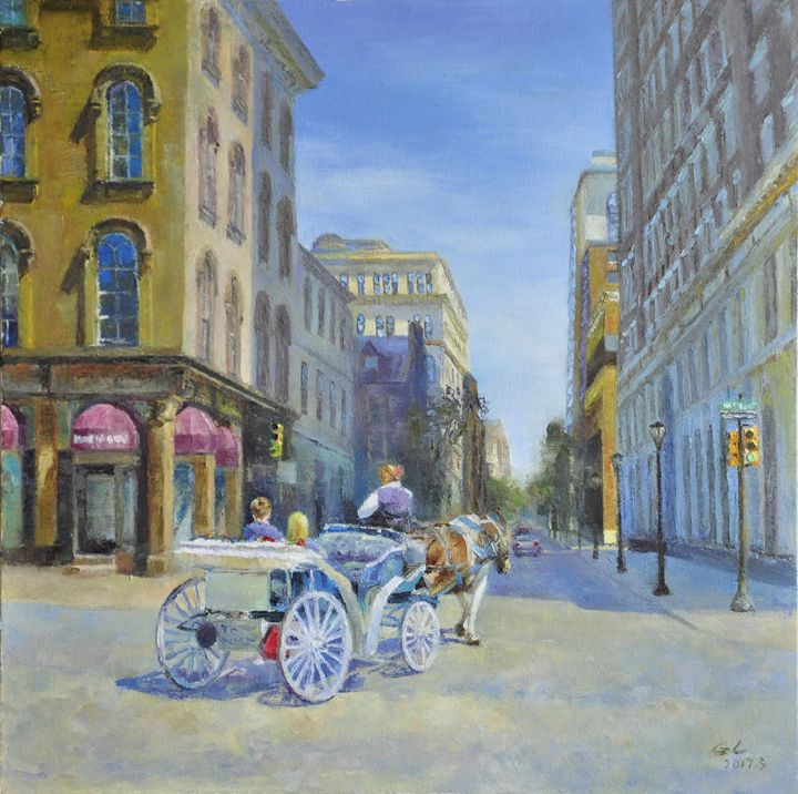 carriage - GXL's paintings