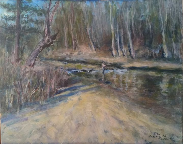 The river - GXL's paintings